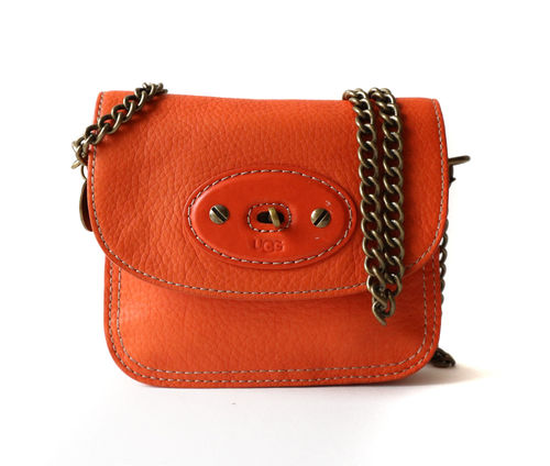Oranssi UGG Brooklyn Small Flap Bag
